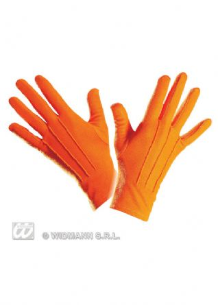 Short Gloves (Orange)